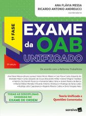 Exame Da Oab Unificado - 1 Fase - 08 Ed