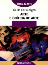 Arte E Critica De Arte