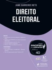Direito Eleitoral - Vol 40 - 08 Ed