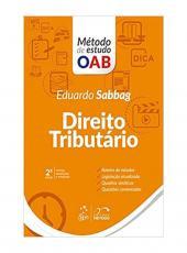 Direito Tributario - Metodo De Estudo Oab