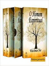 Box - O Homem Espiritual Vols 01, 02 E 03
