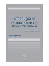 Introducao Ao Estudo Do Direito - Tecnica,decisao,dominicao