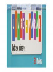 Livro Varal Letras E Numeros