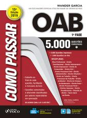 Como Passar Na Oab - 1 Fase - 5.000 Questoes Comentadas - 15 Ed