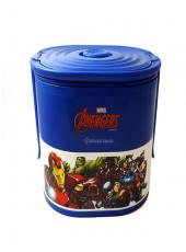LANCHEIRA BOX 17X13X14CM DUPLA ULTIMATE AVENGERS - 10022036