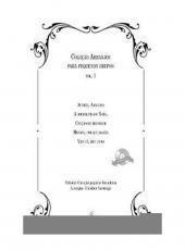 Colecao Arranjos Para Pequenos Grupos - Vol 01