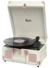 Vitrola Raveo Sonetto Com Alca Toca-discos/radio/usb/bt Rose Gold - 90-08634