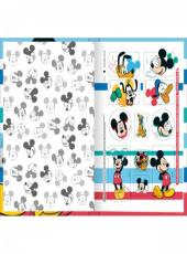 Caderno 1/4 48fls Broch. Top Mickey - 147150