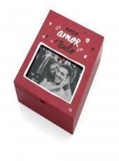 Caixa Para Fotos Amor E Tudo - Ly2294
