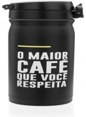 Garrafa Termica Com Botao Frases Cafe - Ly2068