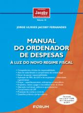 Manual Do Ordenador De Despesas: