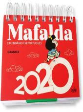 MAFALDA - CALENDARIO - 2020 - VERMELHO