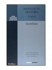 Instituicao Oratoria - Tomo I