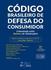 Codigo Brasileiro De Defesa Do Consumidor - Volume Unico - 11 Ed