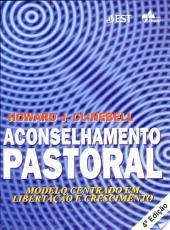 Aconselhamento Pastoral - 04 Ed