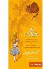Alice - Aventuras De Alice No Pais Das Maravilhas - Bolso Luxo