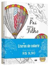 Kit - Livros De Colorir Para Pais