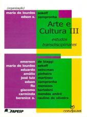 Arte E Cultura Iii - Estudos Transdisciplinares