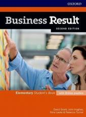 Business Result - Elementary - Student Book With Online Practice Pack - 02 Ed