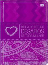 BIBLIA DE ESTUDO DESAFIOS DE TODA MULHER - CAPA ROSA - 02 ED