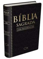 Biblia Com Referencias Sbu - Capa Preto