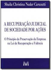 Recuperacao Judicial De Sociedade Por Acoes, A