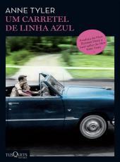 UM CARRETEL DE LINHA AZUL