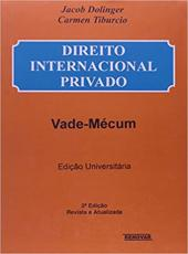 Direito Internacional Privado - Vade-mecum De Direito Internacional Privado - 2 Ed