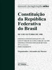 Constituicao Da Republica Federativa Do Brasil - 42 Ed