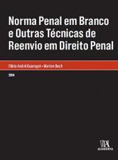 Norma Penal Em Branco E Outras Tecnicas De Reenvio
