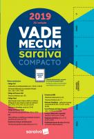 Vade Mecum Saraiva Compacto - 2019 - 21 Ed