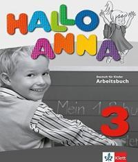 HALLO ANNA 3 - ARBEITSBUCH (LIVRO DE EXERCICIOS)