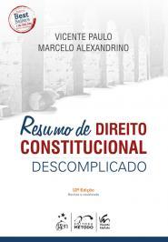 Resumo De Direito Constitucional Descomplicado - 12 Ed