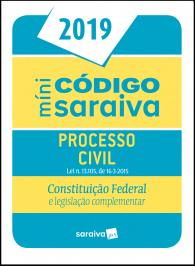 Mini Codigo Processual Civil - Saraiva 2019 - 24 Ed