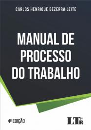 MANUAL DE PROCESSO DO TRABALHO - 04 ED