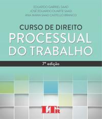 Curso De Direito Processual Do Trabalho - 07 Ed