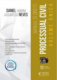 Manual De Direito Processual Civil: Volume