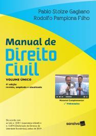Manual De Direito Civil - Volume