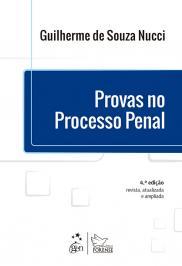 PROVAS NO PROCESSO PENAL - 04 ED