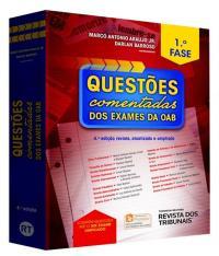 Questoes Comentadas Dos Exames Da Oab - 1  Fase - 04 Ed